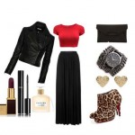 Look of the day for a lazy night out