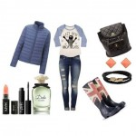 Look of the day ideal set for a dull rainy day