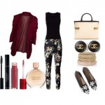 Look of the day with Erdem pants and bag Chloe