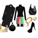 Look of the day with Jeremy Scott skirt and bag Coach