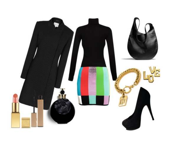 Look of the day with Jeremy Scott skirt and bag Coach - Look of the day με φούστα Jeremy Scott και τσάντα Coach