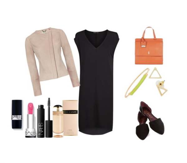 Look of the day with Mango dress and bag Hobbs - Look of the day με φόρεμα Mango και τσάντα Hobbs