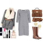 Look of the day with a Mulberry bag and boots Burberry
