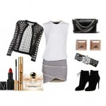 Look of the day with booties Tom Ford and Steve Madden bag