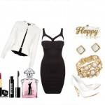 Look of the day with Daysi dress and clutch Edie Parker
