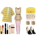 Look of the day with Jimmy Choo shoes and Chanel bag
