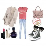 Look of the day with Tally Weijl jeans and bag Topshop