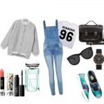Look of the day with sunglasses The Row and a bag Satchel