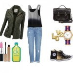 Look of the day with top Adidas and earrings Jennifer Zeuner