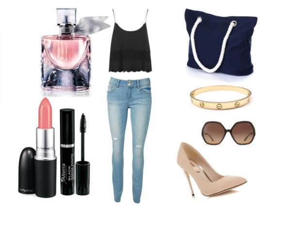 Look of the day afternoon set ideal for a leisurely coffee - Look of the day απογευματινό σύνολο ιδανικό για έναν χαλαρό καφέ