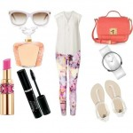 Look of the day elegant and very feminine summer set