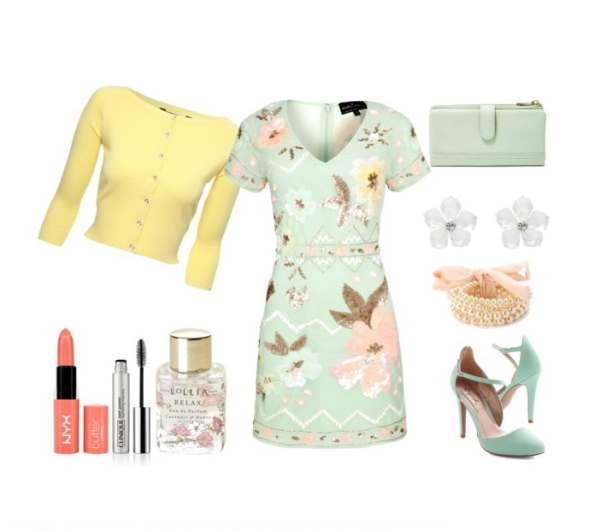 Look of the day super spring evening set - Look of the day σούπερ ανοιξιάτικο βραδινό σύνολο