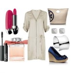 Look of the day with a bag and Platforms Tory Burch
