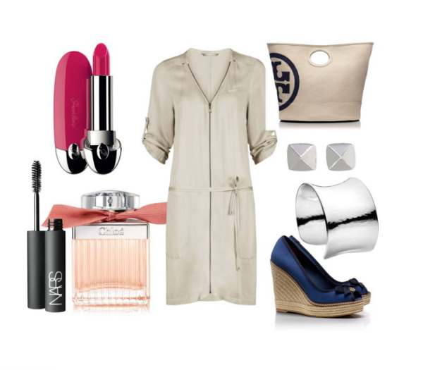 Look of the day with a bag and Platforms Tory Burch - Look of the day με τσάντα και πλατφόρμες Tory Burch