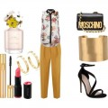 Look of the day for a night out for drink