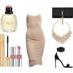 Look of the day for a stunning evening look