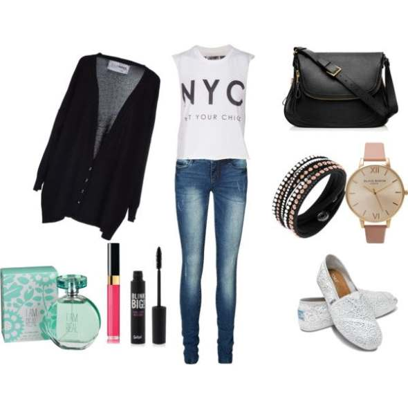 Look of the day for a relaxing day trip