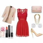 Look of the day for an autumn special occasion