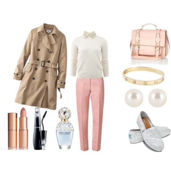 Look of the day perfect for afternoon coffee