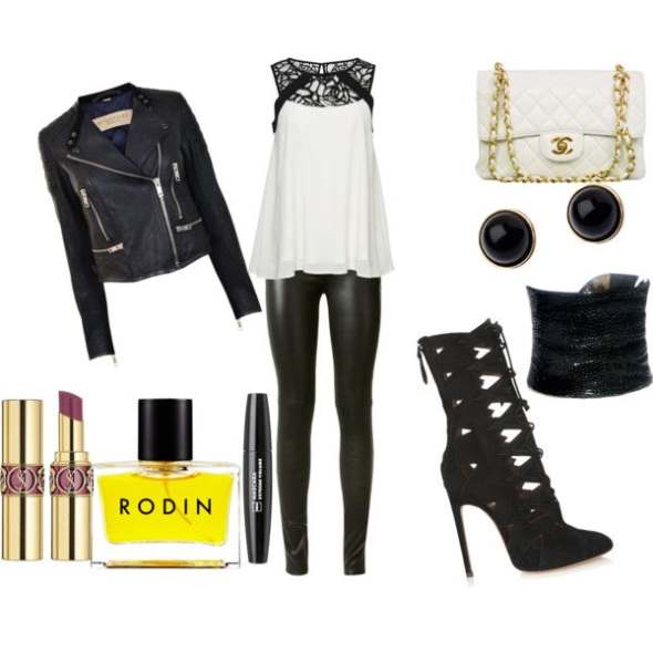 Look of the day with a rock glam style - Look of the day με rock glam στυλ
