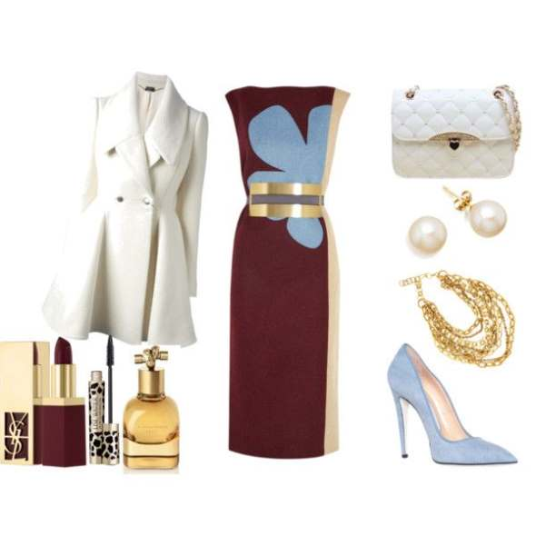 Look of the day for an evening formal look