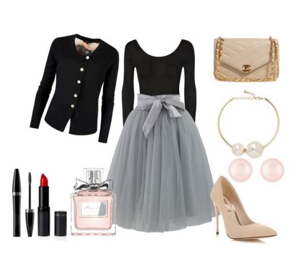Look of the day for wedding or party