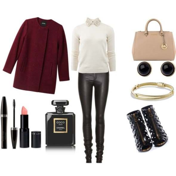 Look of the day ideal choice for a relaxing night out