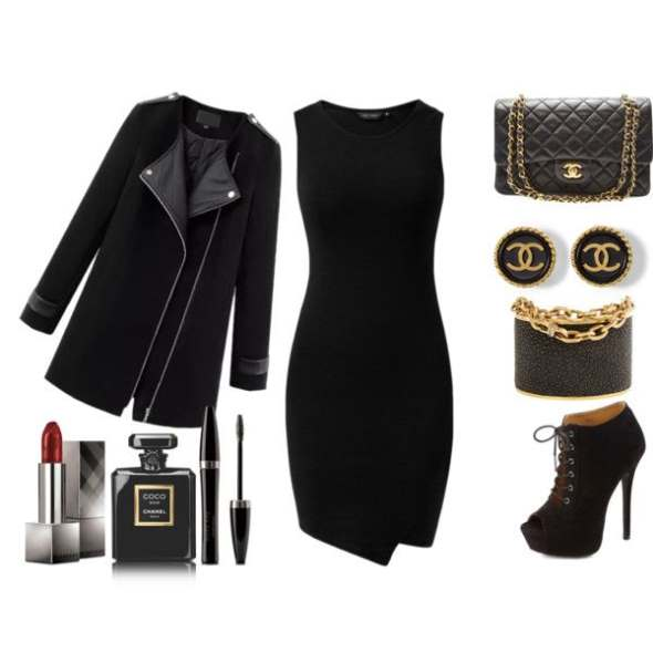 Look of the day for a stylish night out