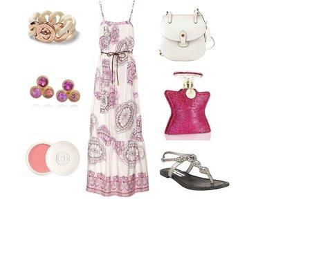 0c10e5ce42b3510bd4c20b2e0a2af7b2 - Look of the Day με μάξι φόρεμα Tibi και σανδάλια Steve Madden