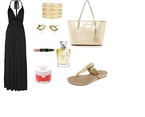 4464111c308710775ed1a7ffc748996c - Look of the Day με maxi φόρεμα T-bags και μια τσάντα Michael Kors
