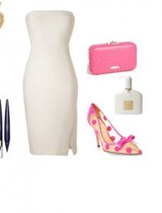 8b634dd57667af4f49a3838a60455b82 228x300 - Look of the Day με λευκό φόρεμα Donna Karan