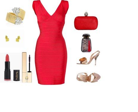 ecd71b695d935b89e39818a13bc00967 - Look of the Day με φόρεμα Herve Leger και πέδιλα Italobalestri