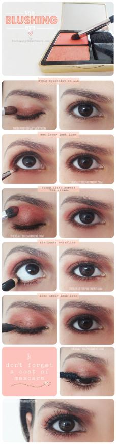 TheBeautyDepartment.com Blushing Eye - Make up Καθημερινό μακιγιάζ