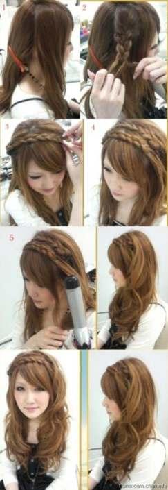 13 - Πλεξούδες σε κυματιστά μαλλιά