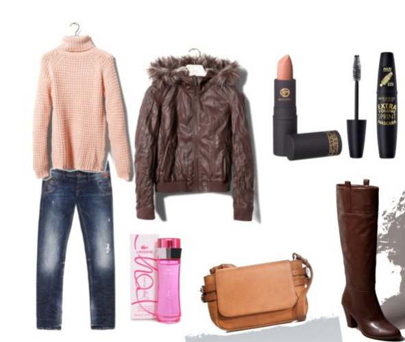 Clip17 - Look of the day με τσάντα Zara