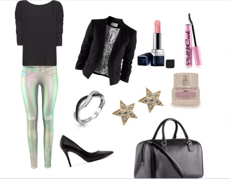 Clip8 - Look of the day με σακάκι H&M