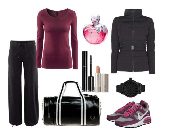 Clip - Look of the day με τσάντα Fred Perry