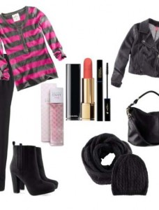 Clip2 228x300 - Look of the day με μποτάκια H&M