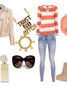 Clip 28 228x300 - Look of the day με jean Verde Ripped