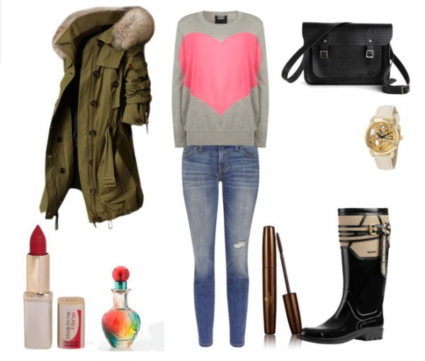 Look of the day Casual stylish outfit with Current Elliott jeans.