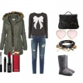 Look of the day with Ugg boots and bag Steve Madden 120x120 - Look of the day με μπότες Ugg και τσάντα Steve Madden