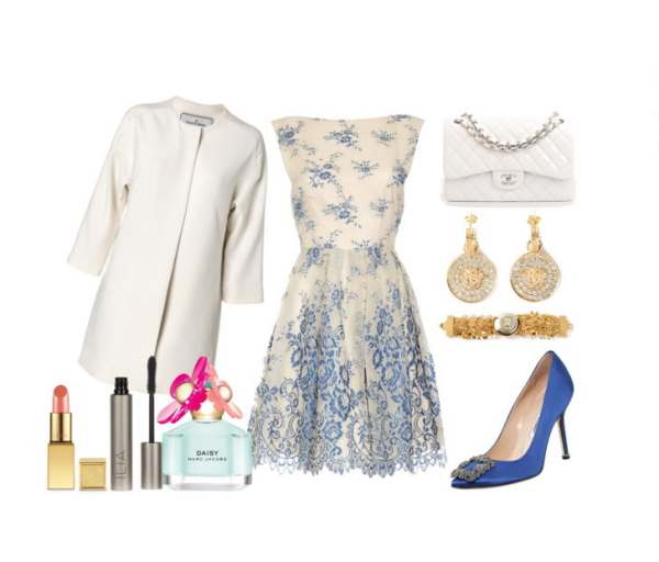 Look of the day ideal choice if you are a guest of a spring wedding - Look of the day ιδανική επιλογή εάν είστε καλεσμένη σας ένα ανοιξιάτικο γάμο