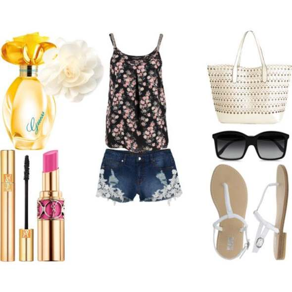 Look of the day for leisurely strolls on the island - Look of the day για τις χαλαρές βόλτες στο νησί
